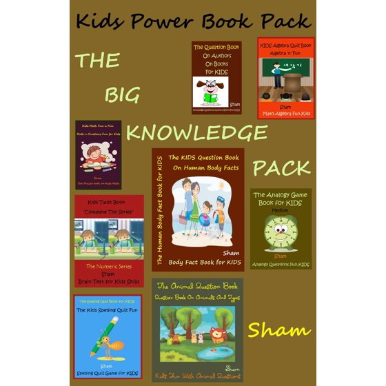 Kids Power Book Pack: The Big Knowledge Pack - eBook