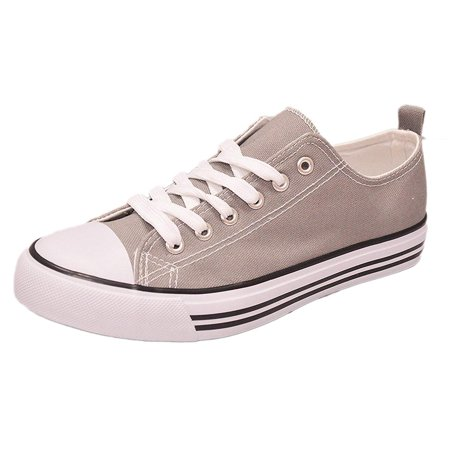 - Women's Low Top Classic Canvas Fashion Sneaker Basketball Tennis Athletic Shoes Cap Toe 2.0