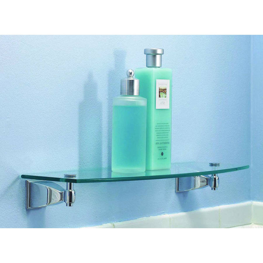 """Ginger 1834-24TSCL Quattro 24"""" Replacement Glass Shelf"""