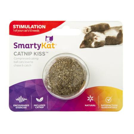 Smartykat  Catnip Kiss  Compressed Catnip Ball