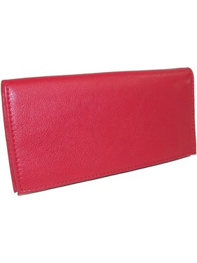 Paul & Taylor Leather Checkbook Cover Wallet