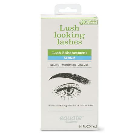 Equate Lush Looking Lashes Lash Enhancement Serum, 0.1 Fl. Oz.