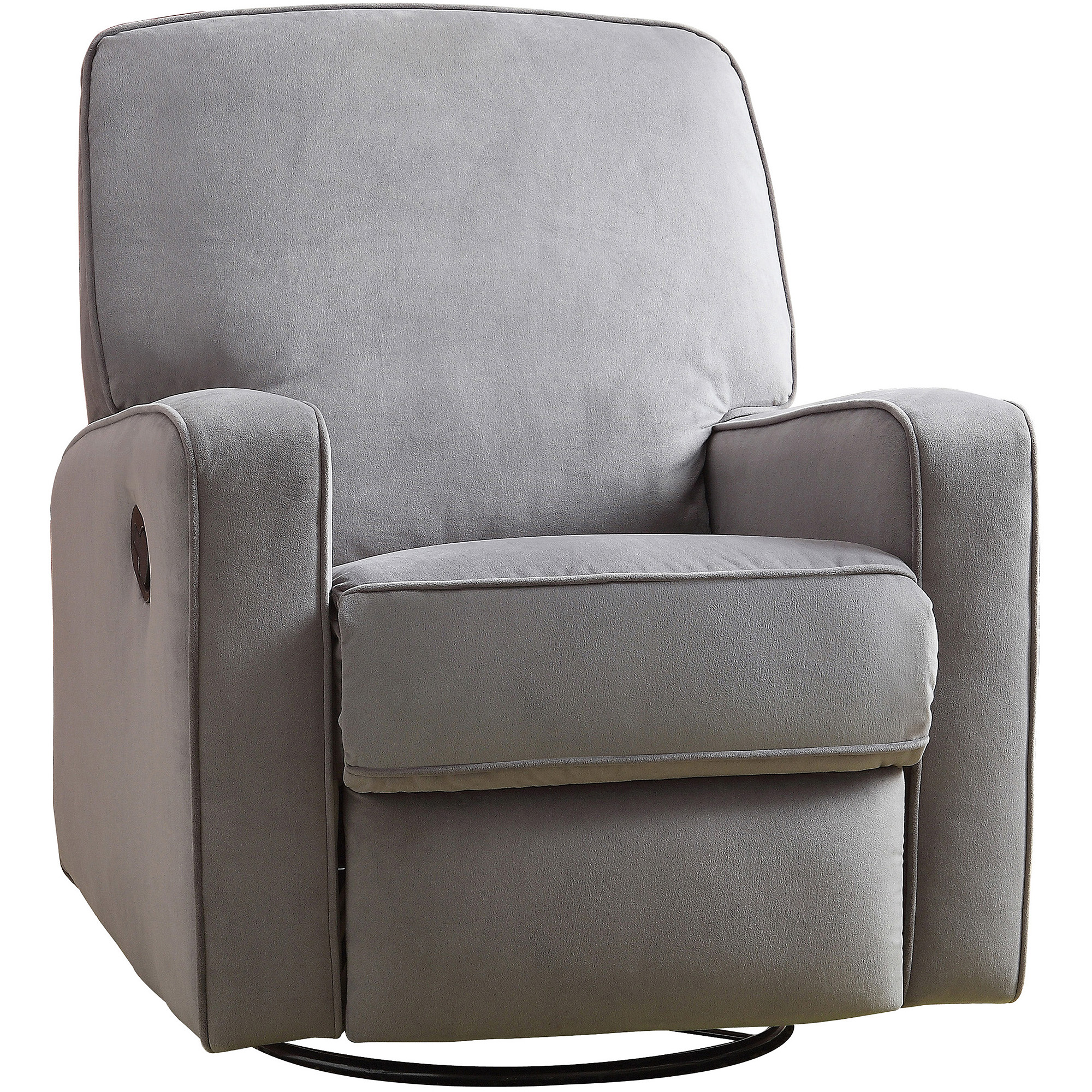 Home Meridian International Sutton Swivel Glider Recliner Stella Zen, Gray by Pri