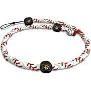 Gamewear 4421404716 Missouri Tigers Classic Frozen Rope Baseball Necklace