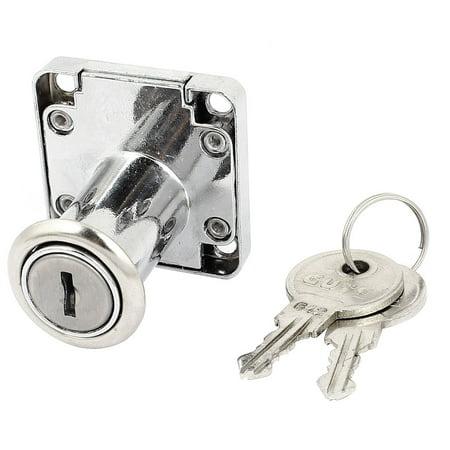32mm High Cylinder Cupboard Cabinet Mailbox Drawer Safe Lock w 2 -