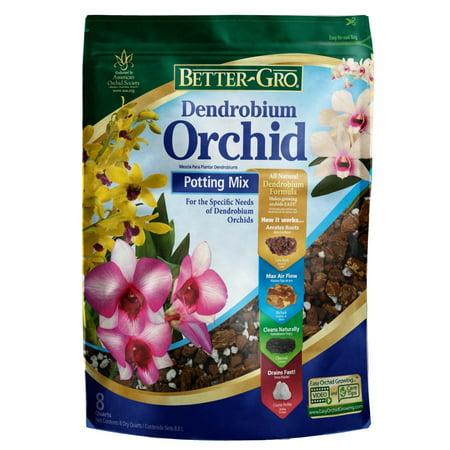 Better-Gro Dendrobium Orchid Potting Mix 8 Quarts, Better-Gro Dendrobium Orchid Potting Mix is a premium blend of western fir bark, By BetterGro 8 Quart Orchid Mix