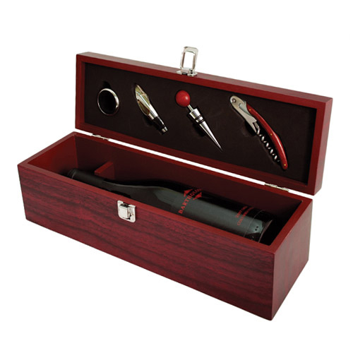 True Cherry 1-Bottle Accessory Gift Set