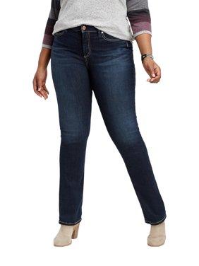 Plus Size Silver Jeans Co. Avery Straight Leg Jean