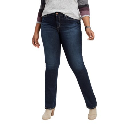 c8ce2642 maurices - Plus Size Silver Jeans Co. Avery Straight Leg Jean - Walmart.com