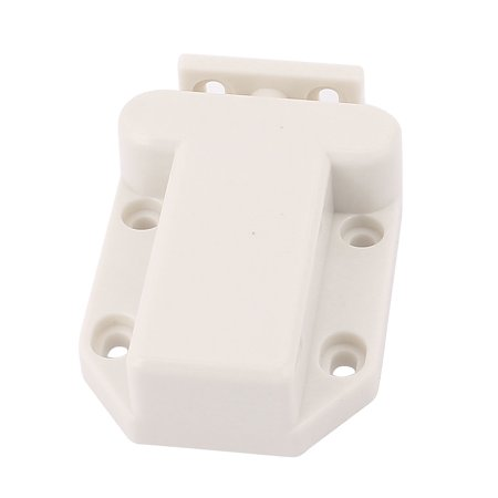 Door Drawer Cabinet Push To Open Catch Touch Latch White