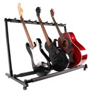 TMS Guitar Stand 9 Holder Guitar Folding Stand Rack Band Stage Bass Acoustic Guitar