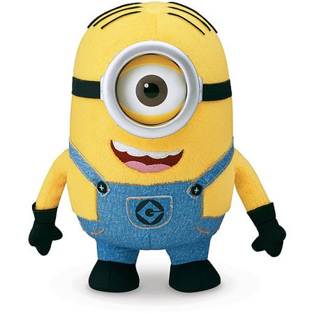 2aecd4df661 Despicable Me Huggable Plush Minion Stuart - Walmart.com