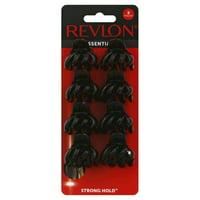 Revlon Essentials Tiny Octopus Clips, 8 count