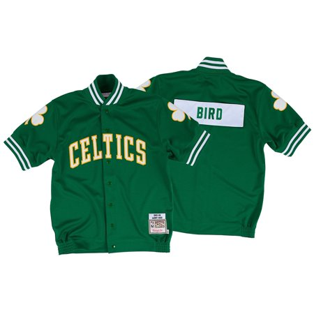 Larry Bird Boston Celtics Mitchell & Ness 1983-84 Authentic Shooting Shirt by