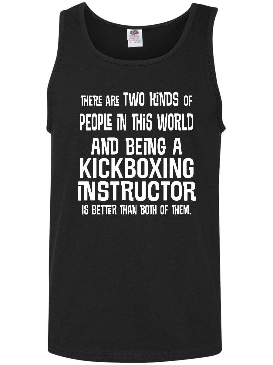 Kickboxing Instructor Funny Job Gift Men's Tank Top