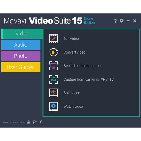 Encore Software Movavi Video Suite Drone Edition (Video Surveillance Software)