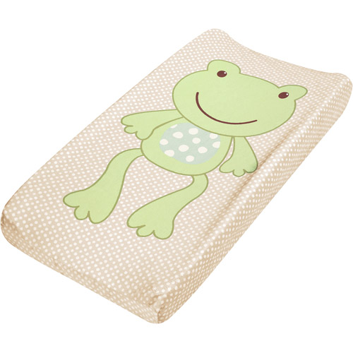 Summer Infant - Plush Pals Changing Pad Cover, Frog