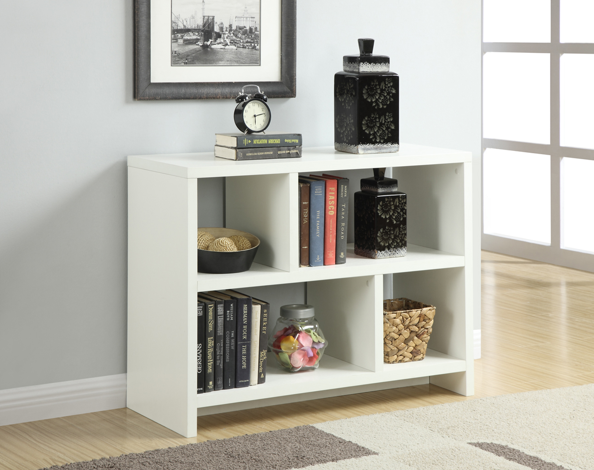 Convenience Concepts Northfield Console Table with Shelves, Multiple Colors by Convenience Concepts