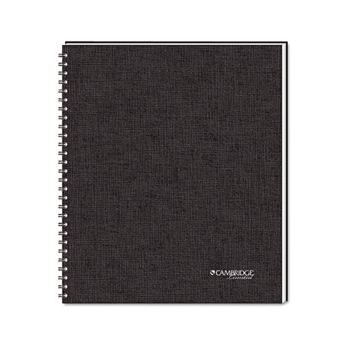 Side Bound Guided Business Notebook, Quicknotes, 11 X 8 1/2, 80 Sheets