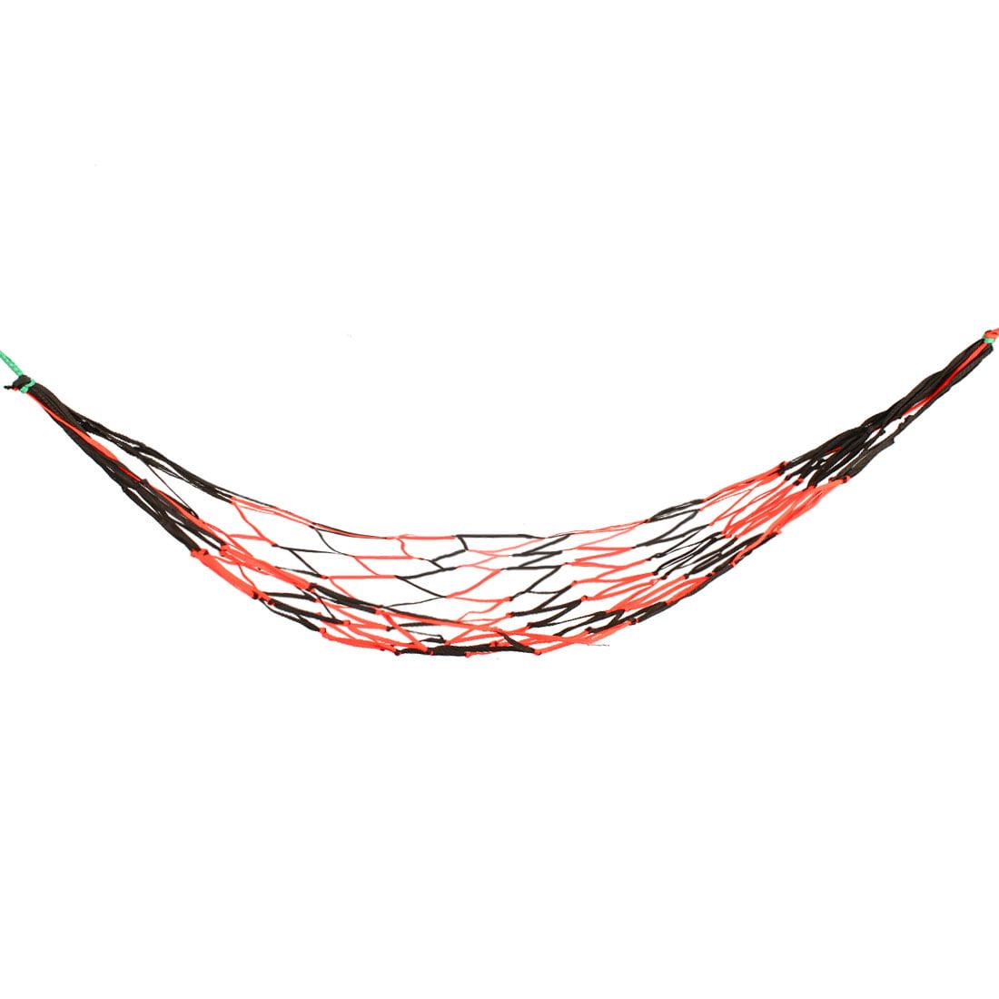Camping Garden Nylon Meshy Net Hammock Sleeping Bed 2x1.4 M by Unique-Bargains