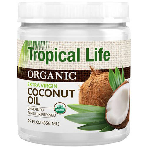 Tropical Life Organic Extra Virgin Coconut Oil, 29 fl oz