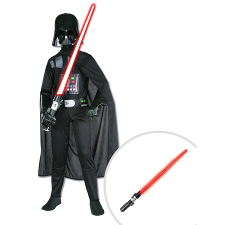 Kid's Darth Vader Star Wars Costume and Star Wars Darth Vader Lightsaber - Wholesale Lightsabers