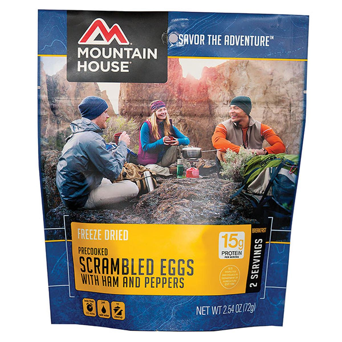 Mountain House Scrambled Eggs with Ham and Peppers by Mountain House