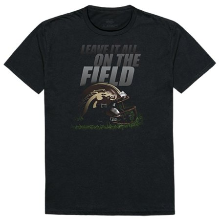 WMU Western Michigan University Broncos Gridiron T-Shirt