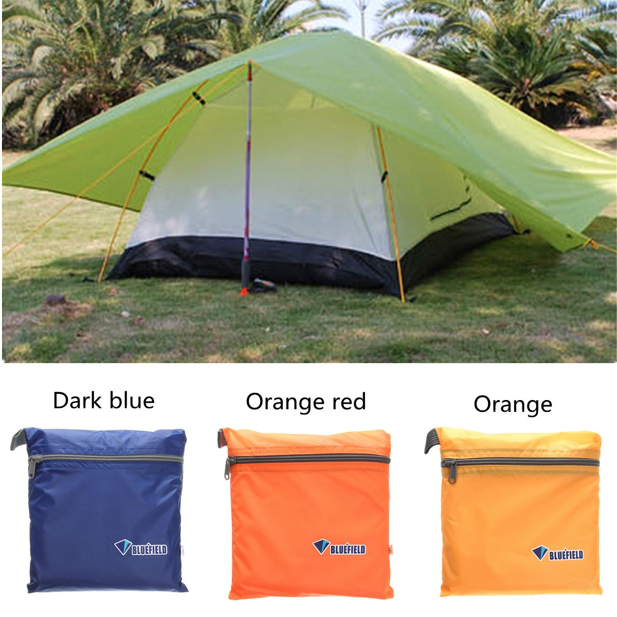 OUTERDO Outdoor Picnics Camping Beach Tent Sunshade Waterproof Sun Proof Shelter Canopy