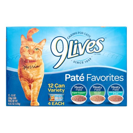 Image of 9Lives Dinner Variety Pack, 5.5 Ounce Can, 12 Count