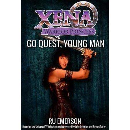 Xena Warrior Princess: Go Quest, Young Man - eBook - Male Warrior
