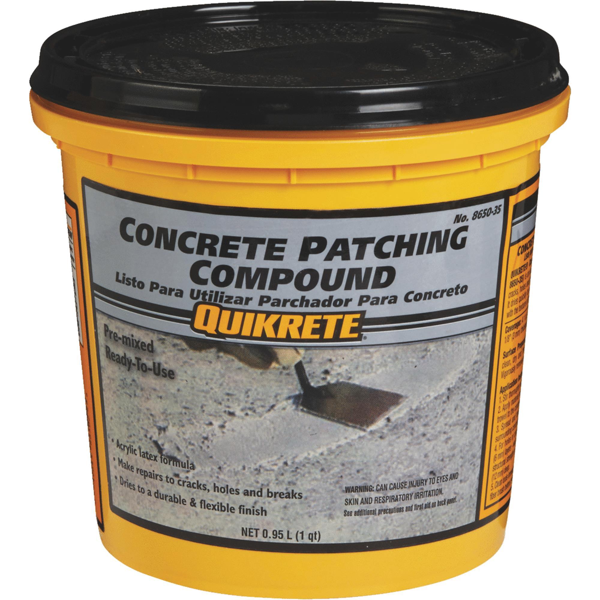 Quikrete Concrete Patch Compound Walmart Com