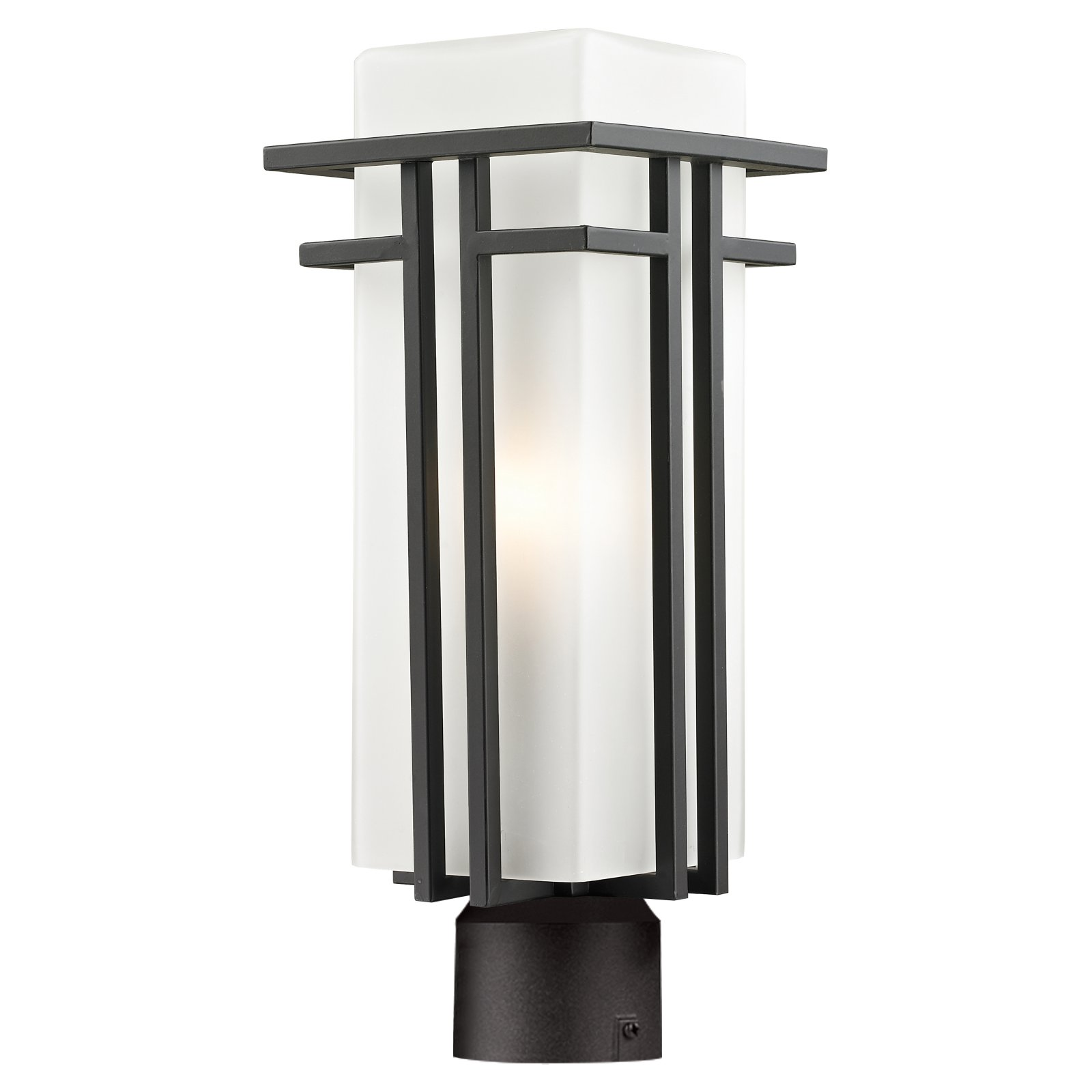 Z-Lite Abbey 550PHB-ORBZ-R Outdoor Post Light by Z Lite