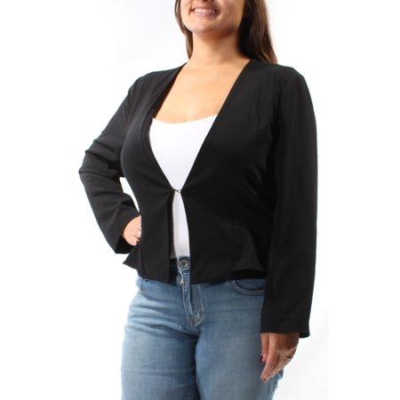 GUESS Womens Black Bolero Jacket  Size: XL