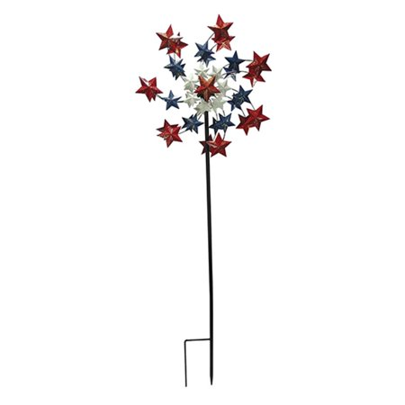 Border Concepts 72 in. Star Spangled Wind Spinner - Halloween Border Spider