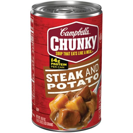Campbells  Chunky  Steak   Potato Soup  18 8 Oz