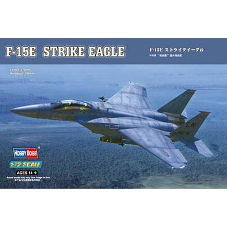 HobbyBoss 80271 Boeing F-15E Strike Eagle 1/72 Scale Plastic Model Kit