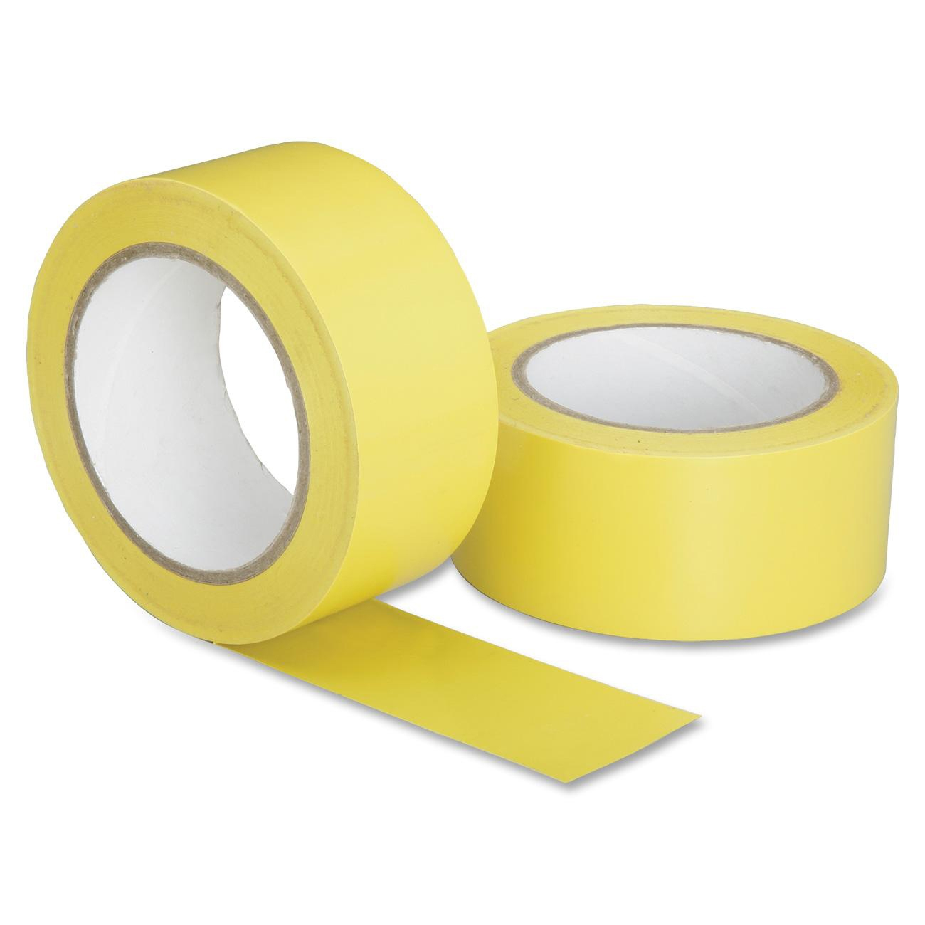 "7510016174257 Marking Tape, Yellow, 2"" X 108 Ft Roll"