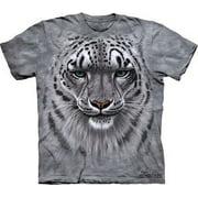 Snow Leopard Adult T-Shirt 10-3181