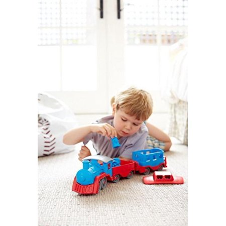 Maven Gifts: Green Toys Train, Blue/Red with Green Toys Dump Truck Maven Gifts: Green Toys Train, Blue/Red with Green Toys Dump Truck