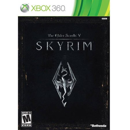 White Scrolls - Bethesda Softworks Elder Scrolls V: Skyrim (Xbox 360) - Pre-Owned