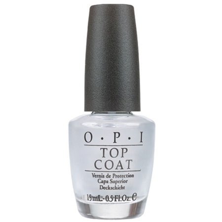 OPI Clear Top Coat, 0.5 Fl Oz Createx Gloss Top Coat