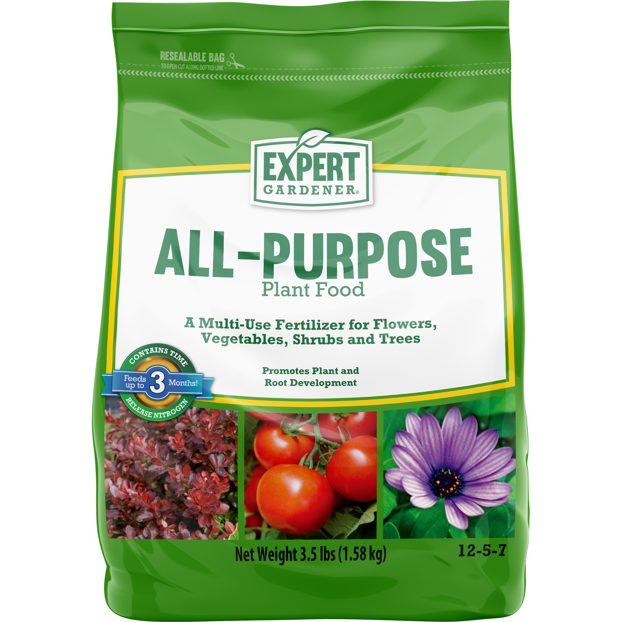 Expert Gardener All-Purpose Plant Food 12-5-7, 3.5 lbs.
