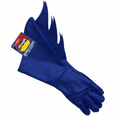 Batman Brave and Bold Batman Gloves Adult Halloween Costume Accessory