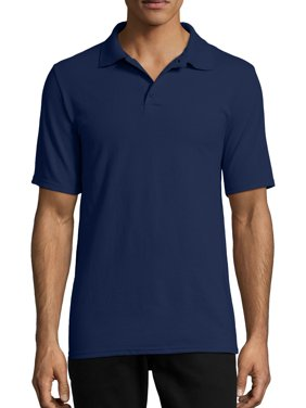 Hanes Men's X-Temp Short Sleeve Pique Polo Shirt
