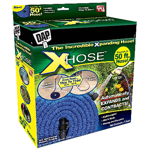 As Seen on TV DAP 50 XHose Garden Hose Blue Walmartcom