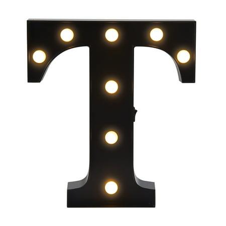 Elements Letter T 10