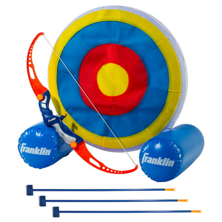 Franklin Sports Kids Archery Target - Inflatable Standing Target with Self-Stick Bullseye and Arrows thumbnail