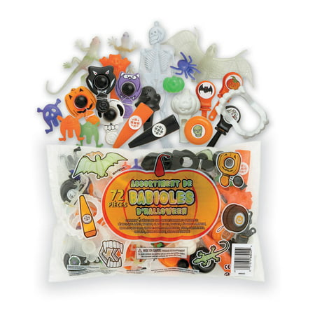 Assorted Halloween Party Favors, 72pc