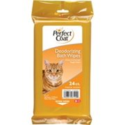 Perfect Coat Bath Wipes For Cats